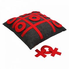 tic-tac-toe game - pillow