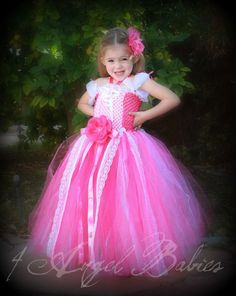 DISNEY Princess Sleeping Beauty Aurora Pink by 4AngelBabies, $78.75