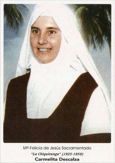 Venerável Maria Felícia de Jesus Sacramentado ( Chiquitunga), Monja Carmelita.