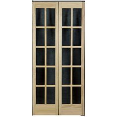 X French Solid Core Pine Bifold Closet Door At Lowes   New Pantry Doors
