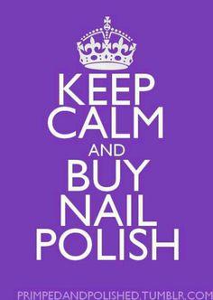 Become a nail tech. Hahaha! So me!!