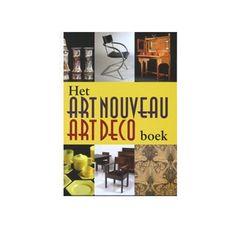 Het Art Nouveau en Art Deco Boek. Laat u inspireren door dit praktische boek.