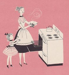 pink pie baking