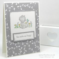 Stampin' Up! Demonstrator Pootles' Colour Challenge 001