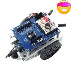 #super Make Your Arduino The Onboard Brain Of A Mobile Robot And Learn #Robotics, Electronics, And Programming With This Versatile Kit And Its Accompanying Step-...
