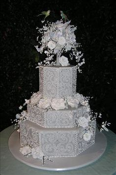Wedding Cakes - kindly study this moving cues, pin number 9517469224 here. Diy Wedding Cake, Amazing Wedding Cakes, Wedding Cake Designs, Extravagant Wedding Cakes, Cool Cake Designs, 25th Wedding Anniversary, Dream Cake, Occasion Cakes, Cupcake Cakes