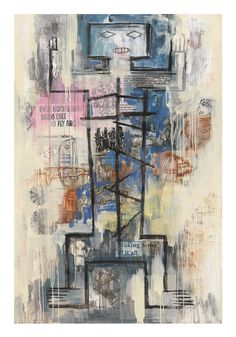 5 Artists on Our Radar This August - Artsy New Haven Yale, Yale School Of Art, I See Red, Mixed Media Canvas, Art Fair, Figure Painting, Science Nature, Art Museum, Printmaking
