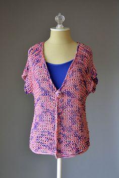Knitting Patterns Galore - Kauai Cardigan