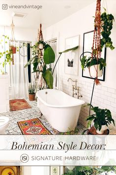 Home Decoration Ideas Boho .Home Decoration Ideas Boho Boho Bathroom, Chic Bathrooms, Dream Bathrooms, Bathroom Trends, Modern Bathroom, Small Bathroom, Master Bathroom, Boho Home, Aesthetic Room Decor