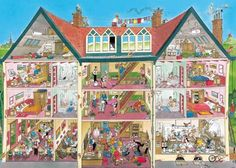 Solve house jigsaw puzzle online with 513 pieces Jr Art, Grande Section, Puzzle Art, Comic Drawing, Doodle Art, Installation Art, Paper Dolls, 1000 Piece Jigsaw Puzzles, Images