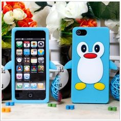 Penguin soft Case for iPhone -- Sky Blue - Discount iPhone Cases - iPhone 5 Cases nice Ipod 5 Cases, Ipod Touch Cases, Cute Phone Cases, Iphone Cases, Tablet Cases, Apple Iphone 5, Best Iphone, Iphone 5s, Penguin Cartoon