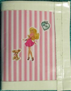 Barbie Wallet / billfold by Gifts4aHootenanny on Etsy, $10.00