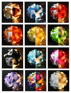 Contemporary/Modern IQ/Jigsaw/Puzzle/light Shade Lampshade Ceiling Light  32cm UK