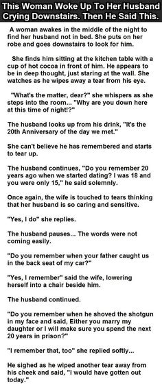 Woman Gets Moved To Tears After Thinking Her Husband Is Being Romantic But Then He Says This