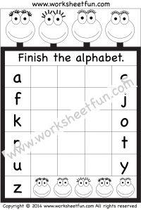 missing uppercase letters missing capital letters 1 worksheet pre junior education. Black Bedroom Furniture Sets. Home Design Ideas