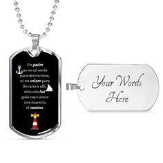 To My Son Just Believe In Yourself Son From Mom Dog Tag Necklace - Snappy Creations Working Mother, Working Moms, Father Definition, Dog Tags Military, Military Ball, Military Style, Love Dad, Glass Coating, Faux Fur Boots