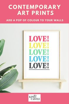 Our modern wall art prints will add a pop of colour to your gallery wall. This typography wall decor, as seen in GRAZIA magazine, features pastel pink, yellow, green, blue and grey colours. It would make an excellent feature piece in your gallery wall ideas or look stunning in a living room, hallway, bedroom or home office. Browse our full range at our website. Pastel Art, Pastel Colours, Pastel Pink, Pink Yellow, Blue, Contemporary Art Prints, Modern Wall Art, Coral Wall Art, Pastel Home Decor