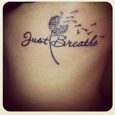 dandelion- just breathe