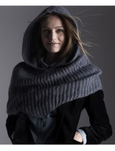 I have a similar hooded scarf and I love it.