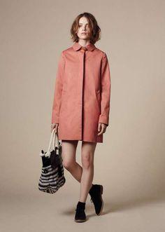 coral spring coat