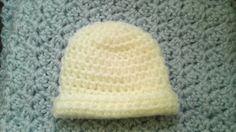 Stillborn / Micro Premie Baby Hat - Crochet Pattern