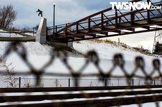 Chris Grenier. PHOTO: Andy Wright | Wallpaper Wednesday: The Streets Know... | TransWorld SNOWboarding