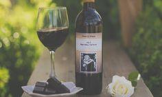 Custom Wine Labels Custom Wine Bottles, Custom Wine Labels, Personalized Wine Bottles, Red Wine, Alcoholic Drinks, Anniversary, Night, Glass, Personalized Wine Labels