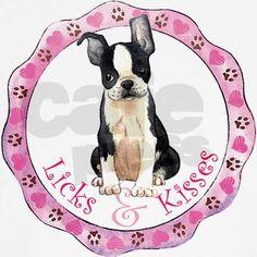 Boston Terrier Valentine Shirt on CafePress.com
