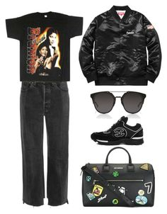 """""""Untitled #46"""" by maryambreivik ❤ liked on Polyvore featuring Vetements, Betty Boop and Dior Homme"""