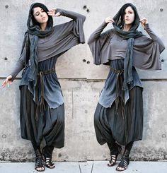 Diy Fashion, Ideias Fashion, Womens Fashion, Fashion Design, Witch Fashion, Steampunk Fashion, Gothic Fashion, Fashion Dresses, Mode Punk