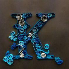 「クイリング k」の画像検索結果 - letter crafts preschool alphabet Quilling Letters, Quilling Paper Craft, Paper Crafts, Toddler Crafts, Preschool Crafts, Arabic Jewelry, Birthday Money, Flower Alphabet, Heart Diy