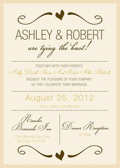 Rustic Wedding Invitation AND Response Card by invitesbychristy, $20.00