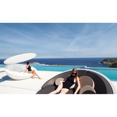 ULM Lounger, Outdoor Lighted Furniture Design at Cassoni.com