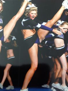Look Coach! My toes are pointed!