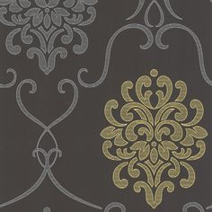 """Found it at Wayfair.ca - Accents Suzette Modern 33' x 20.5"""" Damask 3D Embossed Wallpaper"""