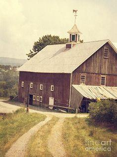 Four Corners Farm Vermont by Edward Fielding