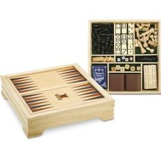 7 in 1 Traditional Game Set (Item No. 9320) from only $20.75 ready to be imprinted by 4imprint Promotional Products