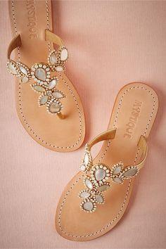 Adonia Wedding Sandals by Mystique for @BHLDN: