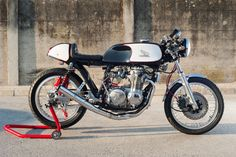 cx650 turbo cafe racer | Honda CB550 Cafe Racer 7