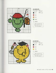 Gallery.ru / Фото #78 - Adele Welsby`s - Cross Stitch Characters - anfisa1