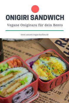 n unserem Onigirazu Rezept lernst du, wie du die super einfachen Onigiri Sandwiches zubereitest. Wir lieben die klassischen Onigiri, weil sie so super praktisch und hübsch sind – aber vegane Onigirazu sind um einiges einfacher in der Zubereitung und es passt mehr Füllung rein! Du kannst dich übrigens total bei der Füllung austoben – klassische Onigiri Füllungen passen genauso gut wie alles, was du in Sandwiches packen würdest.
