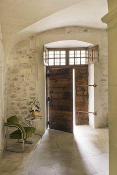 New Hotel De Tourrel: a Palace in Provence - News & Events Interior Walls, Interior Design, Mediterranean Homes, Brick And Stone, Stone Houses, Rustic Elegance, Modern Farmhouse, Interior Architecture, House Design