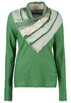 AINA - Stickad tröja - grön