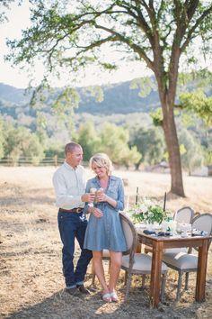 Husband and Wife team of Negranti Ice Cream truck sheep's milk ice cream  | Fall Ice Cream Social {a lovelyfest styled shoot}