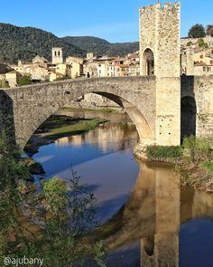 Preciós el Pont de  #Besalú. Gràcies pel suport @Besalu_Turisme #InstaCAT_Besalu #IgersBslú #InstaBslú