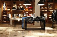 Scotch and Soda, instore, pinned by Ton van der Veer