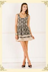Recital Lace Dress from Francesca's I seriously might get this!!! <3 <3 <3