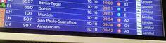 LH 507 aus Brasilien/Sao Paulo gelandet. Warten am Terminal. 50 Jahre beste Freunde, ist eine unglaublich tolle Sache. :-)