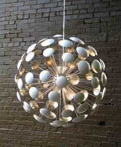 I have a wall sculpture that is similar. Don't know what it is about dots, but they do suck me in!