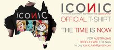 FOR THE TIME IS NEAR ICONIC - Portraits & Artwork inspired by The Queen of Pop OFFICIAL T-SHIRT ON SALE! http://www.attaccabottone.com/iconic/ IF YOU RESIDE IN A COUNTRY EXTRA EU, PLEASE CONTACT US ICONIC.ITALY@GMAIL.COM A project by Gabriele Ferrarotti, Ettore Ventura and Michele Sacco